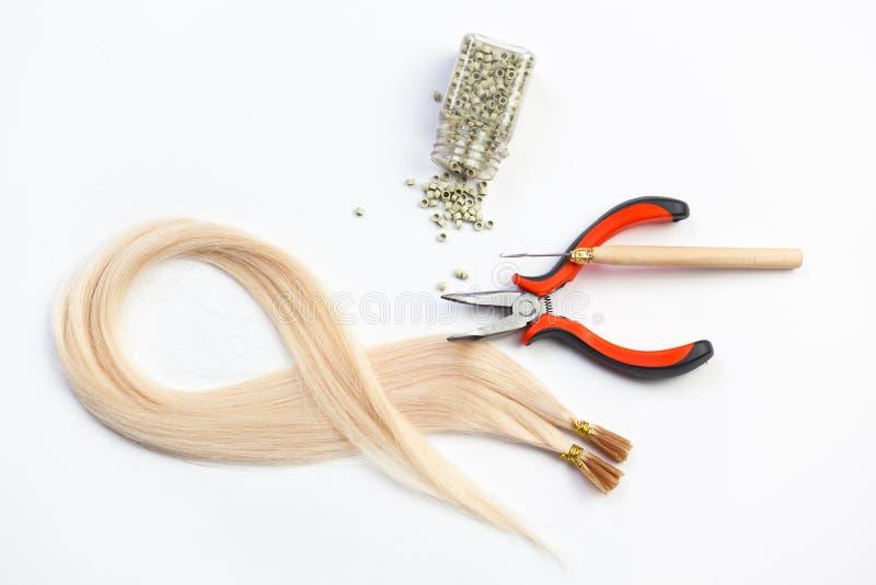 волосы выдвижения стоковая фотография