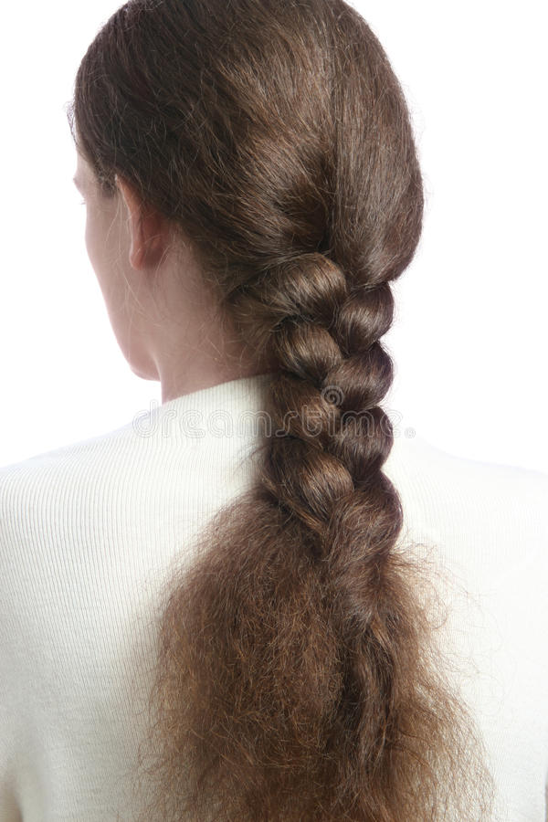 волосы оплетки стоковые изображения