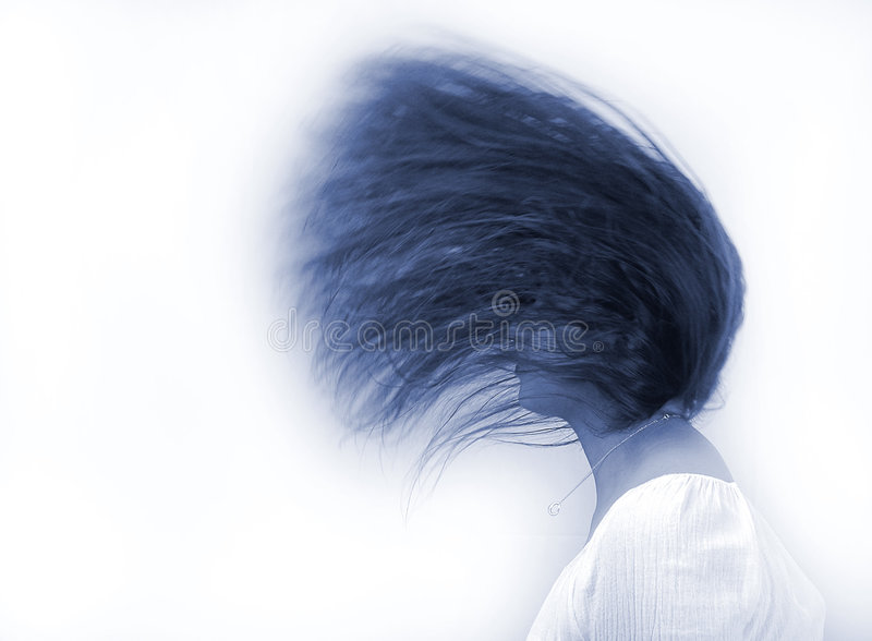 волосы танцульки стоковые фото