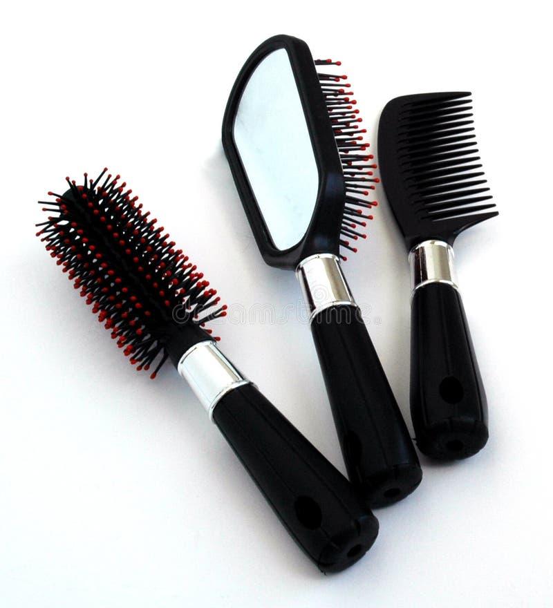 волосы щетки стоковые фотографии rf