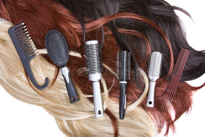 волосы стоковое изображение rf