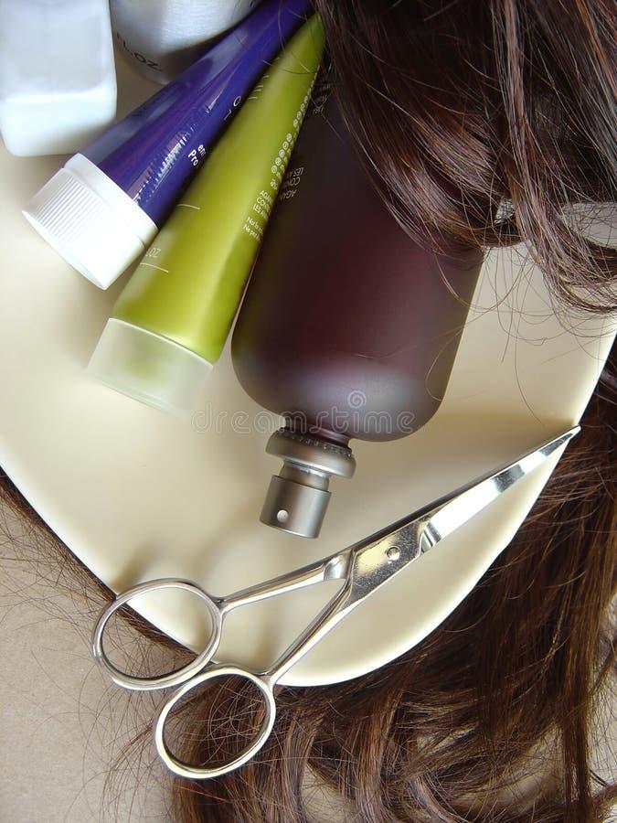 волосы 2 внимательностей стоковая фотография rf