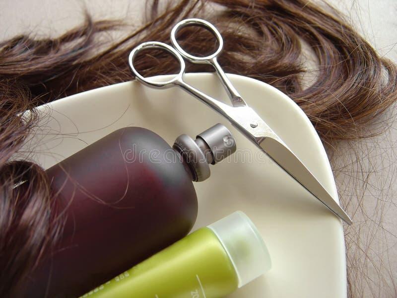 волосы 3 внимательностей стоковые фотографии rf