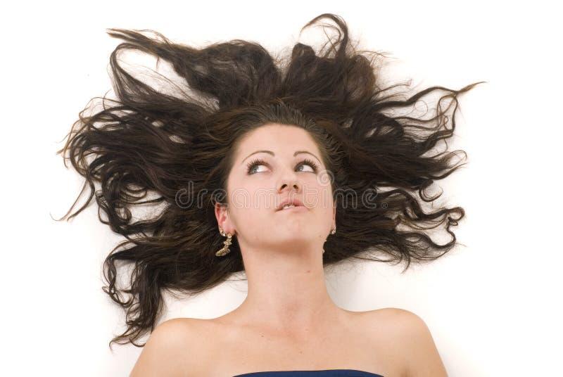 Download волосы стоковое фото. изображение насчитывающей счастливо - 6865454