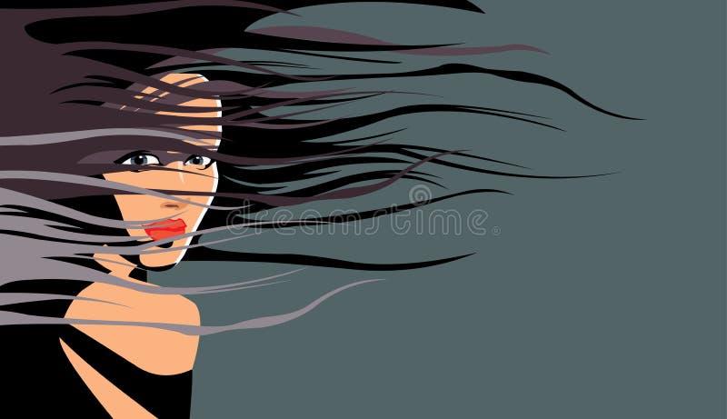 Download волосы иллюстрация штока. иллюстрации насчитывающей сходство - 6865817