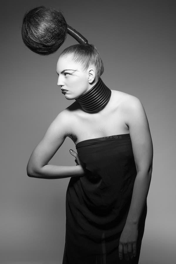 волосы avantgarde стоковые фото