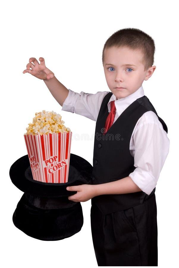 волшебник ребенка стоковое изображение rf