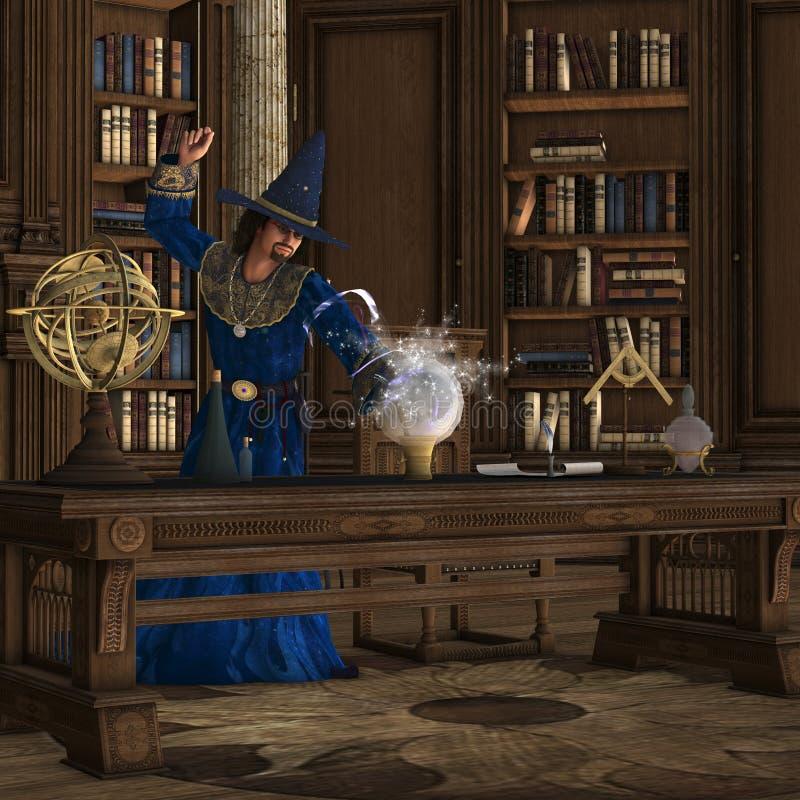 волшебник 01 бесплатная иллюстрация