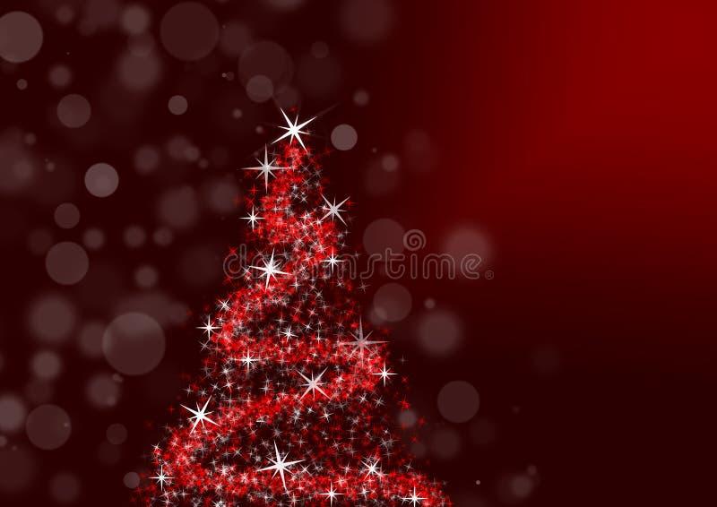 Волшебное рождество иллюстрация штока