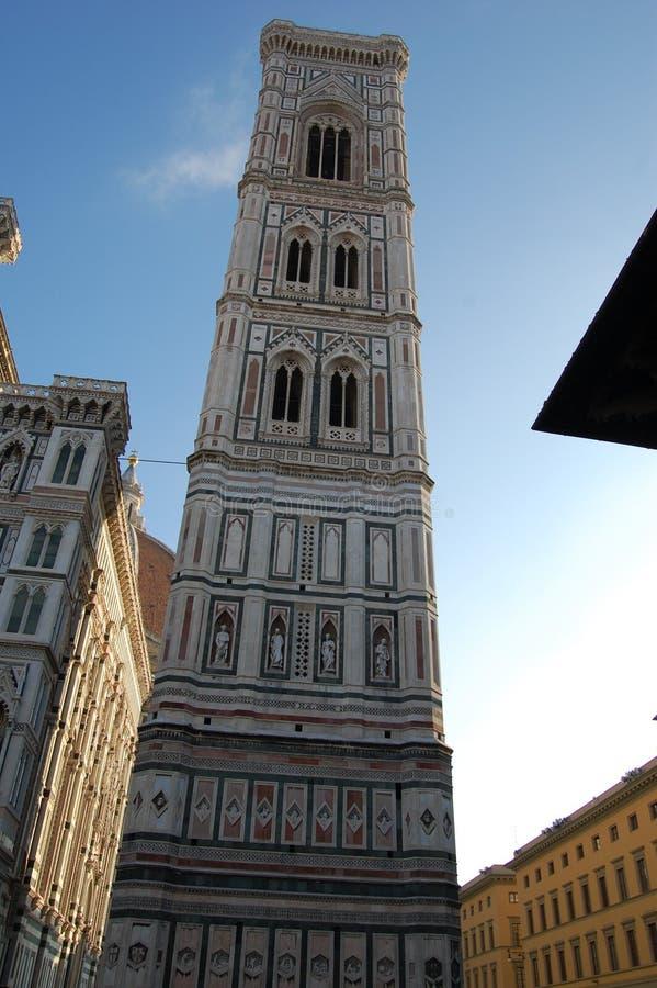 Волшебно красивая башня в городе Флоренс, рождества в Италии стоковые изображения rf