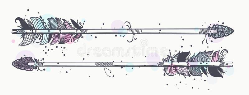 Волшебные стрелки смычка бесплатная иллюстрация