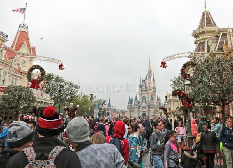 Волшебный парк королевства, мир Уолт Дисней, Орландо, Флорида стоковые изображения