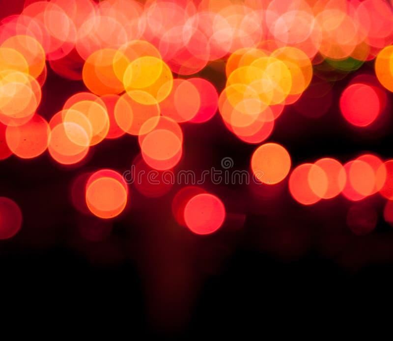 Волшебный sparkle, светлые многоточия и влияние bokeh стоковые фотографии rf