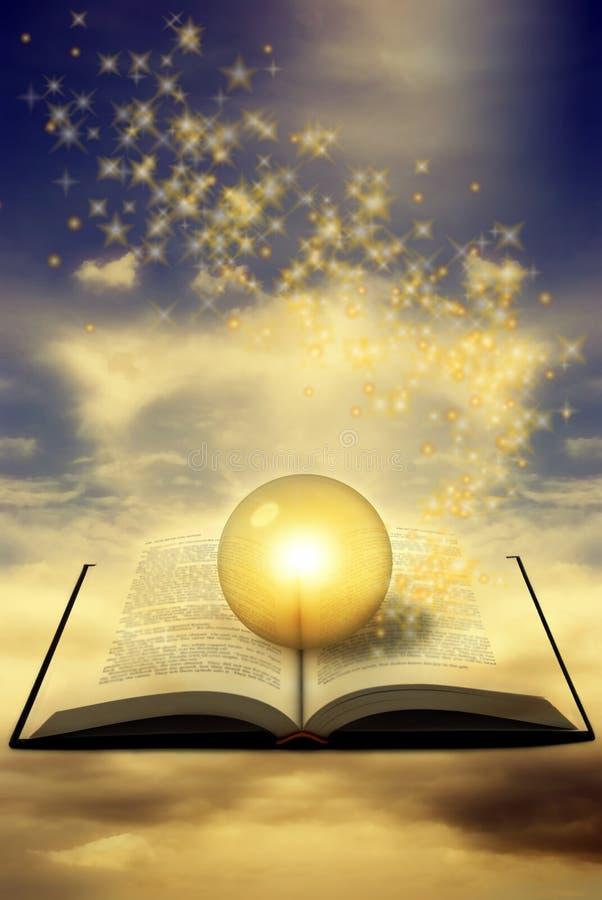 волшебство книги стоковое фото
