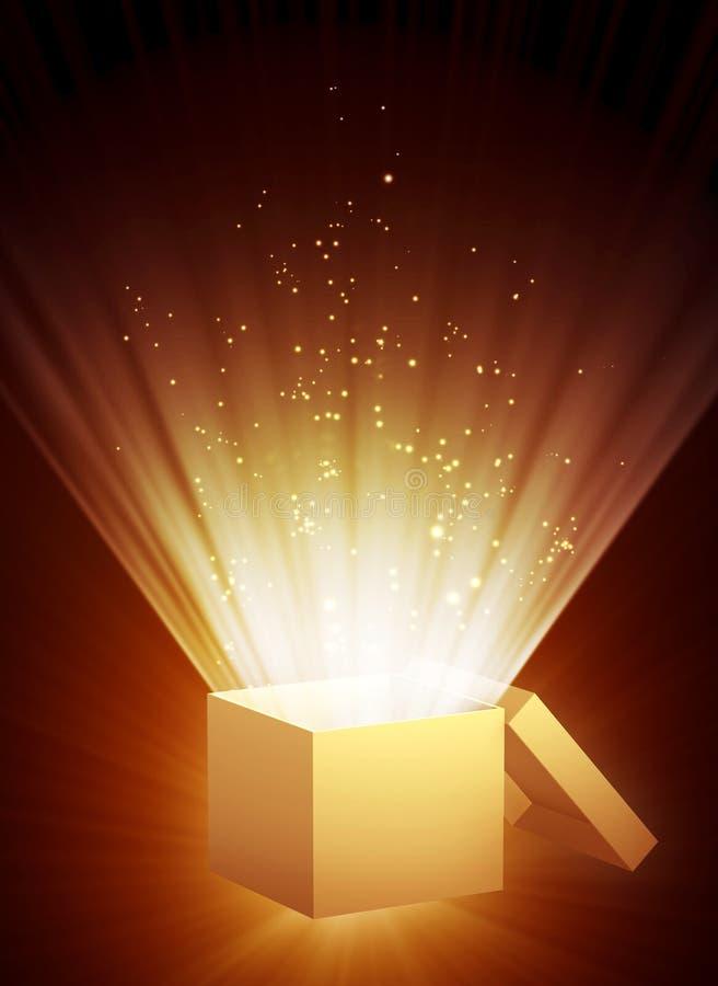волшебство коробки