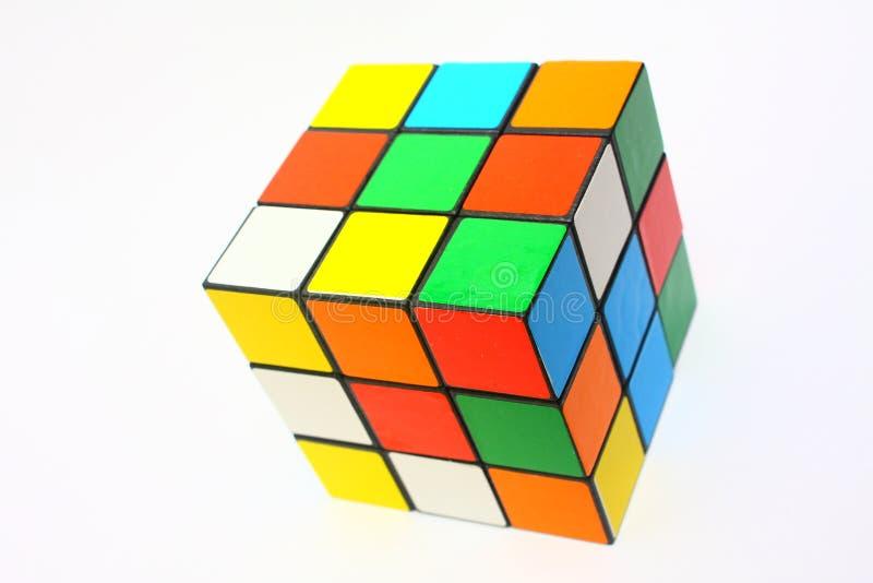 волшебство кубика стоковые изображения rf