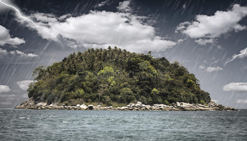 волшебство острова стоковое изображение rf
