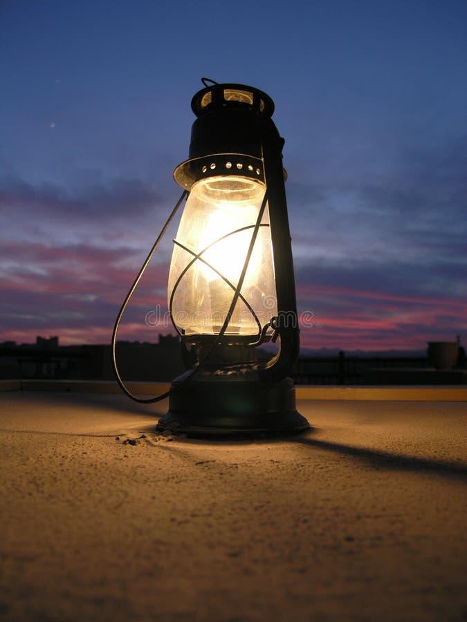 волшебство светильника стоковая фотография rf