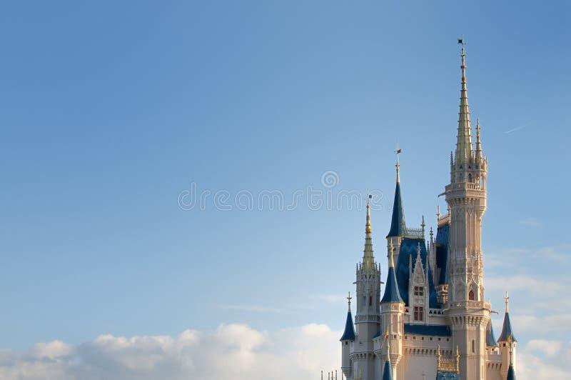 волшебство s королевства Дисней стоковое фото