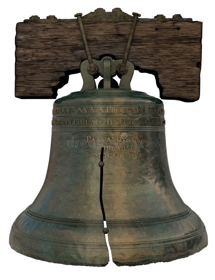 вольность колокола стоковая фотография rf
