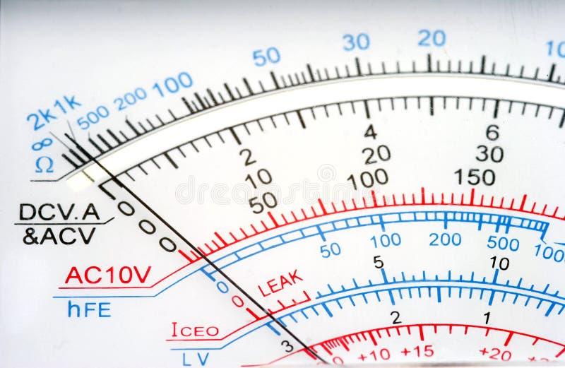 вольтамперомметр стоковая фотография rf