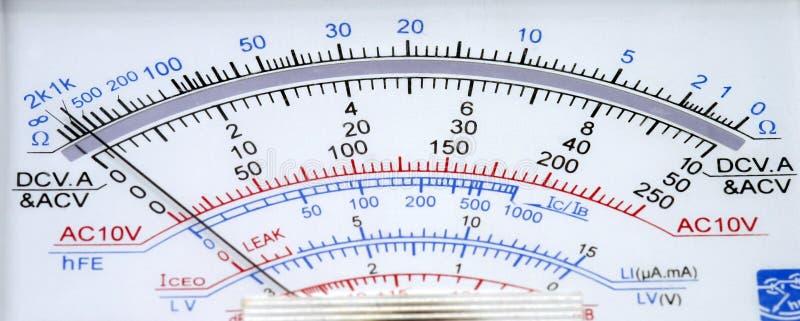 вольтамперомметр стоковая фотография