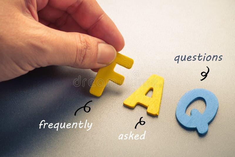 вопросы и ответы стоковые изображения rf