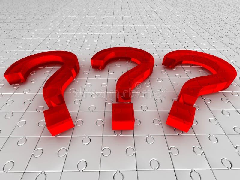 вопросы о головоломки стоковые фотографии rf