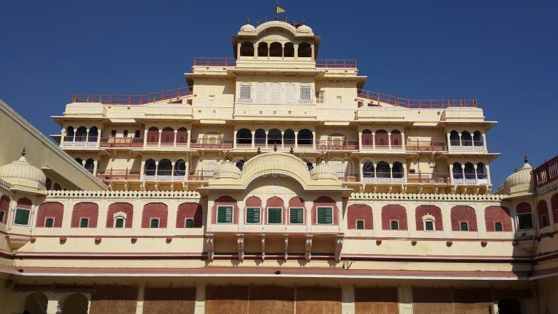 дворец jaipur города стоковые изображения