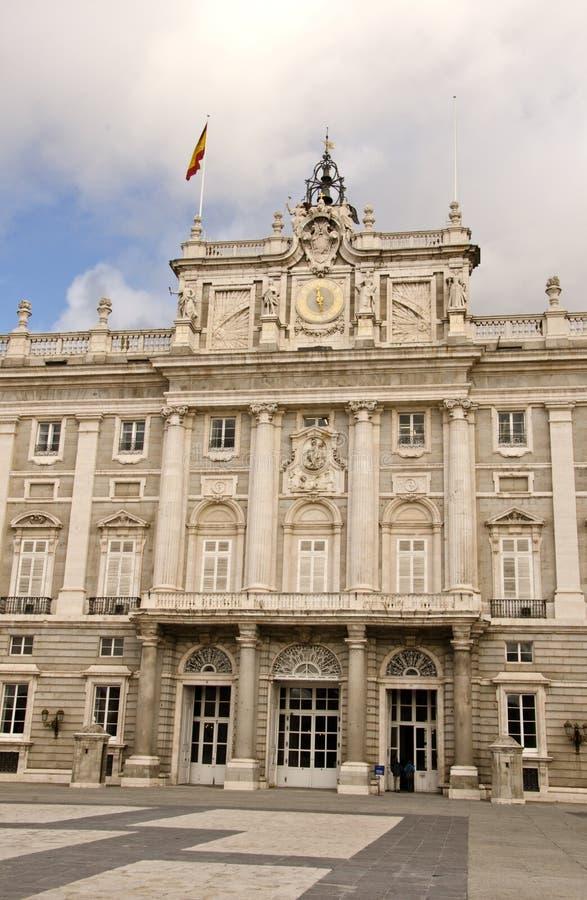 дворец madrid королевский стоковое фото rf