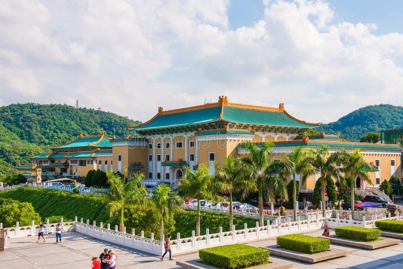 дворец taipei музея национальный стоковая фотография