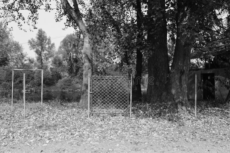 Ворота без загородки стоковое изображение rf