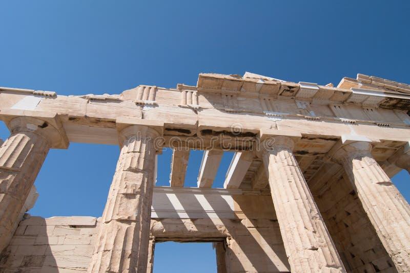 Ворот Propylaea стоковое фото rf