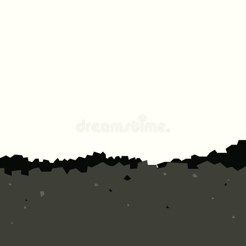 Ворох угля иллюстрация вектора