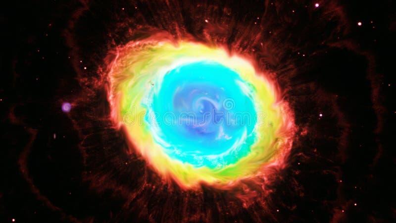 Вортекс звезд стоковая фотография rf