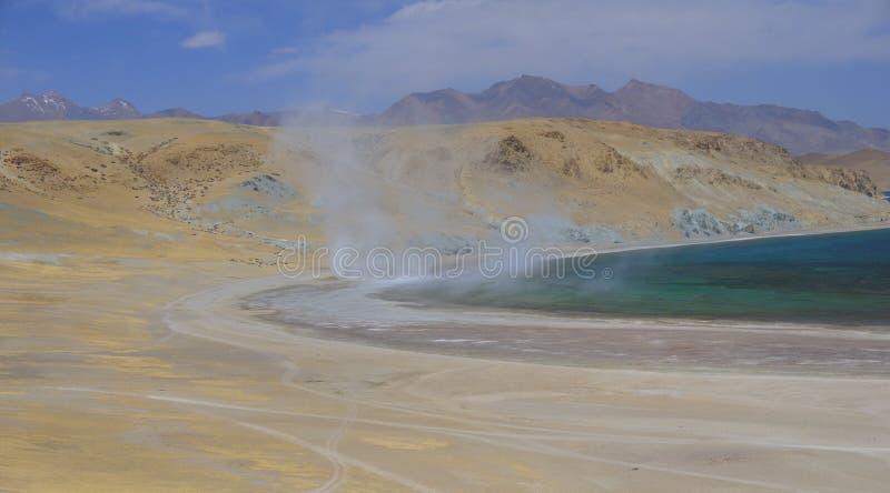 Вортекс на озере стоковая фотография rf