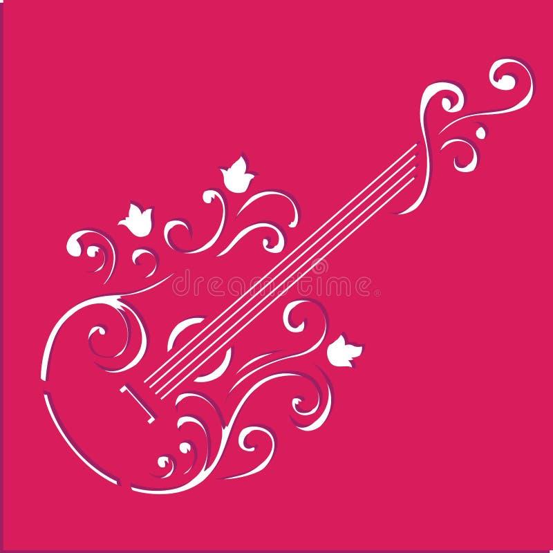 Восковка ar гитары бесплатная иллюстрация
