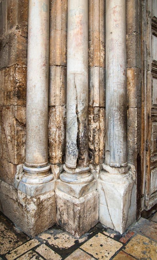 воскресение входного сигнала колонок церков стоковое изображение rf