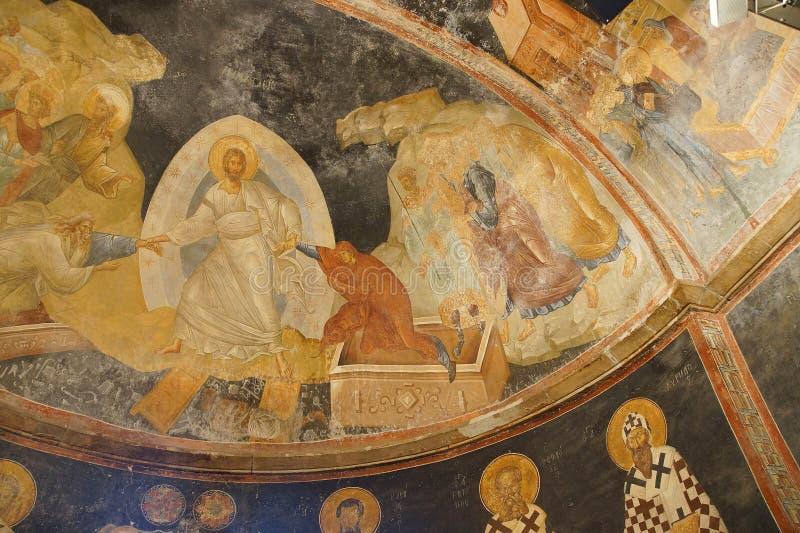 Воскресение, Иисус Христос стоковые изображения