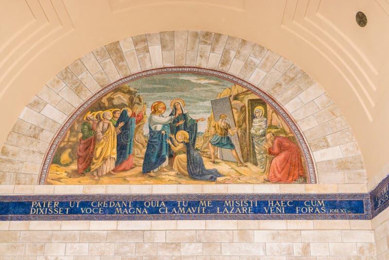 Воскресение Лазаря стоковое фото