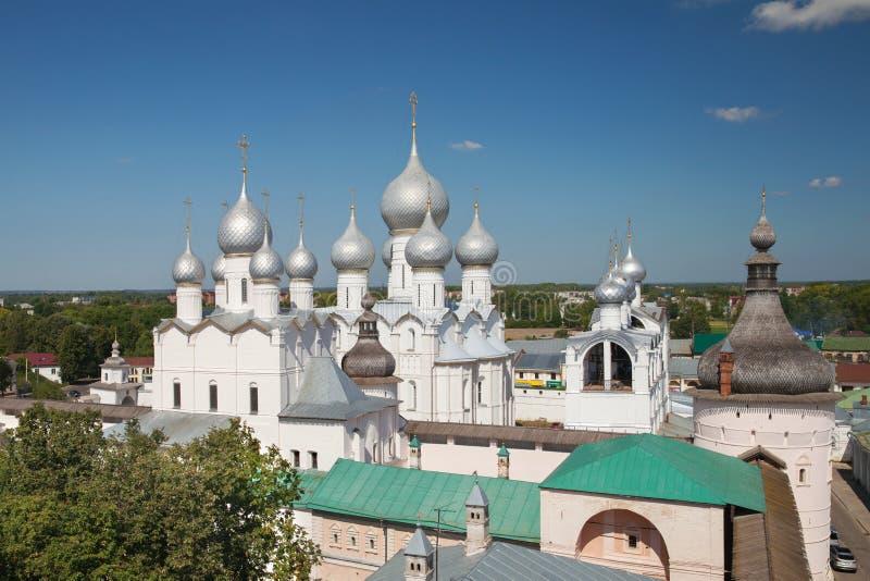 Воскресение Христоса в Кремле Ростова большой стоковое фото rf