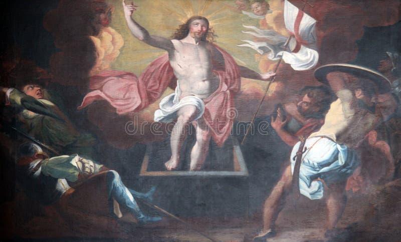 воскресение christ стоковые фотографии rf
