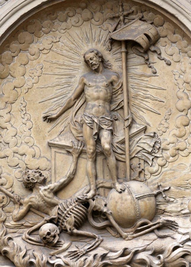 воскресение christ стоковые изображения rf