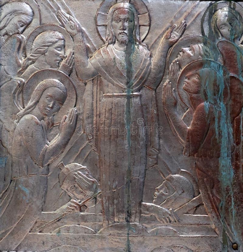 воскресение jesus стоковые изображения