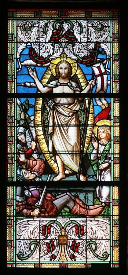 воскресение jesus стоковые изображения rf