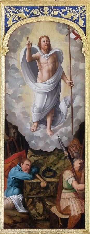 воскресение jesus стоковое фото rf