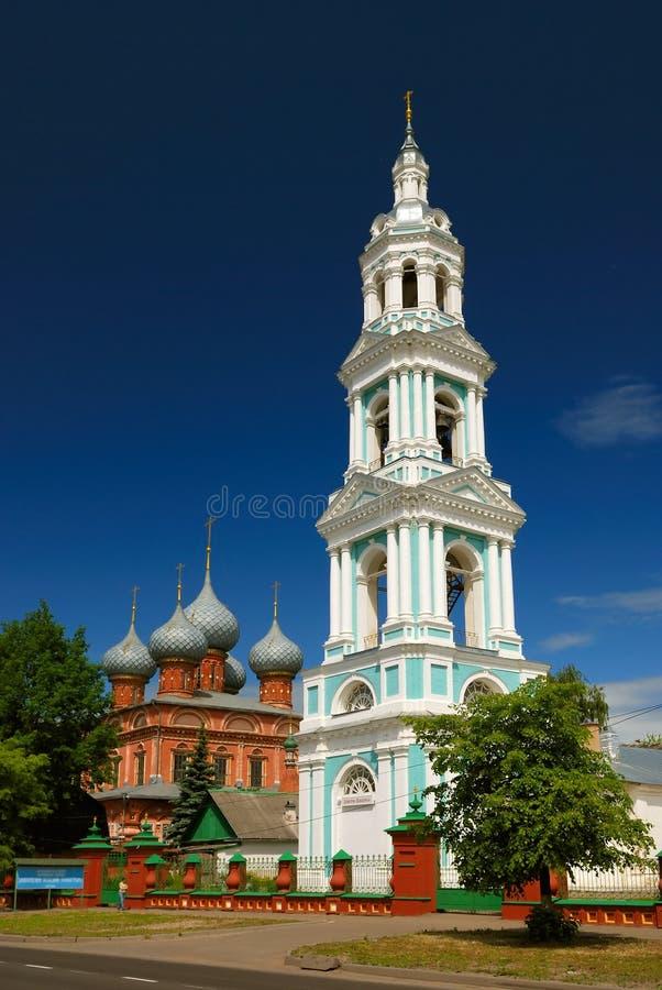 воскресение kostroma церков стоковое фото