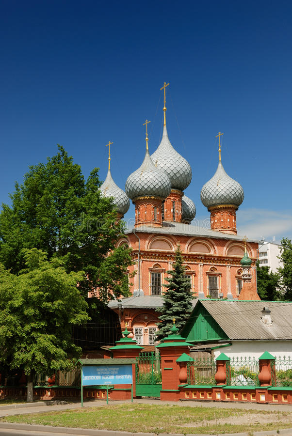 воскресение kostroma церков стоковая фотография