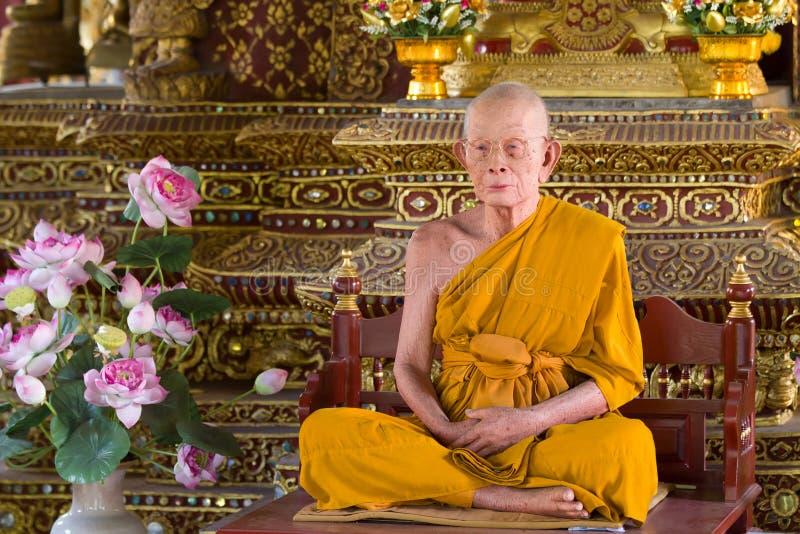 воск монаха стоковое фото