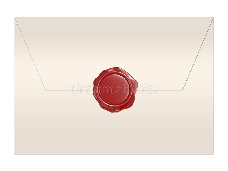 воск уплотнения габарита красный иллюстрация штока